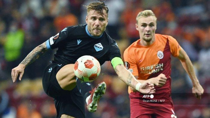 Hasil Galatasaray vs Lazio Liga Eropa: Immobile Cs KO Beruntun, Maurizio Sarri Seret AC Milan