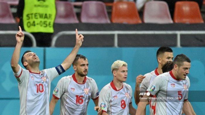 Hasil Babak I Austria vs Makedonia Utara Euro 2020, Saling Balas Gol, Pandev Samakan Kedudukan 1-1