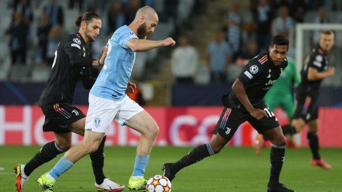 Hasil Malmo vs Juventus di Liga Champions, Dyabala dan Morata Sudahi Perlawanan Tuan Rumah 0-3