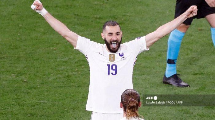 Benzema Kembali Cetak Gol untuk Prancis dan Dinobatkan Man of The Match saat Melawan Portugal