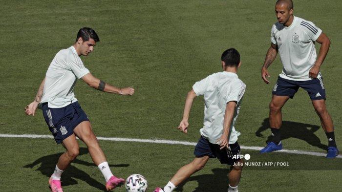 Susunan Pemain Spanyol va Swedia Euro 2020, Morata Diandalkan La Furia Roja, Link Streaming di Sini