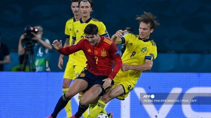 Spanyol vs Polandia Euro 2020, Pukul 02.00 WIB Tayang RCTI & Mola TV, Live Streaming Akses di Sini