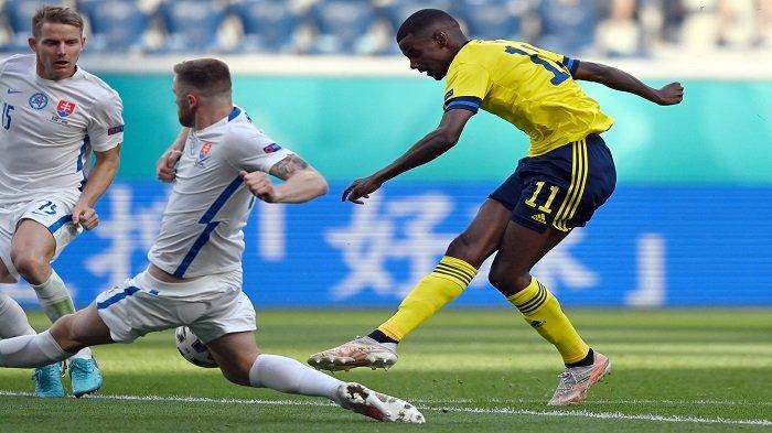 Fakta Menarik di Laga Swedia vs Slovakia, Akhirnya Pemain Swedia Bisa Kembali Cetak Gol di Euro