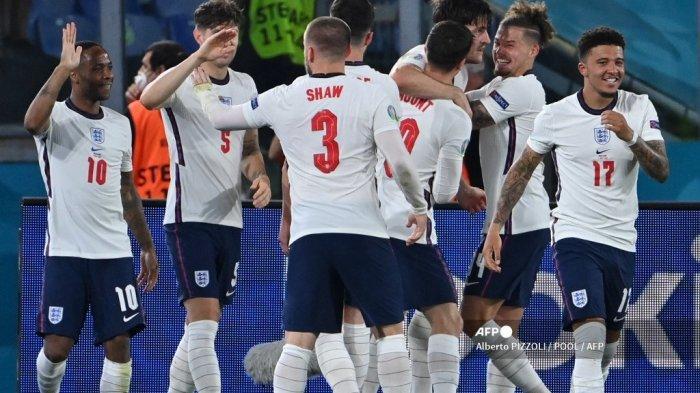 Pemain Inggris di Euro 2021: Lini Serang Muda dan Cepat, Kiper Jarang Kebobolan