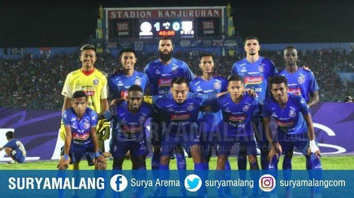 Arema FC vs PSIS Semarang: Empat Pemain Asing Arema Tampil Sejak Awal