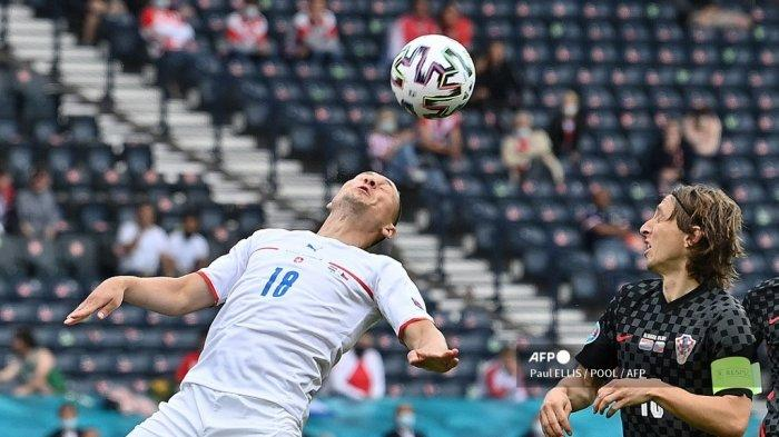 Hasil Kroasia vs Ceko: Gol Berdarah Patrik Schick Dibalas Tuntas Ivan Perisic, Skor Akhir 1-1