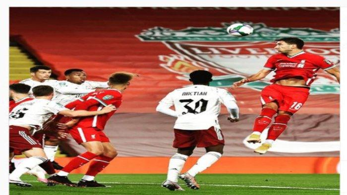 Hasil Liverpool vs Arsenal Carabao Cup, Kalah Babak Adu Penalti, The Reds Tersingkir