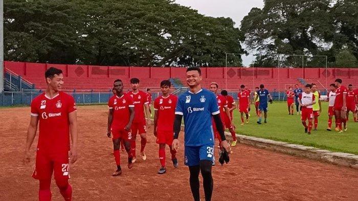 LINK Indosiar, Live Streaming Piala Menpora 2021 - Persik Kediri Boyong 24 Pemain ke Bandung