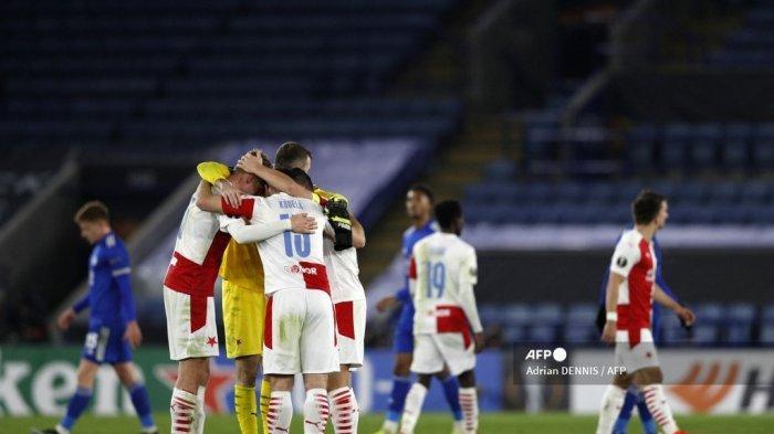 HASIL Liga Eropa: Nasib Apes Leicester & Brendan Rodgers, Berkah Bagi Slavia Praha