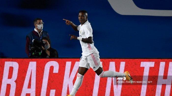 HASIL Babak Pertama Sevilla vs Real Madrid Liga Spanyol: Vinicius Buang Peluang Emas, Skor 0-0