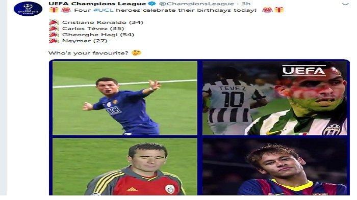 Daftar 26 Pesepakbola yang Ulang Tahun Selasa, 5 Februari, Ada Ronaldo, Neymar, Tevez hingga Januzaj