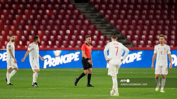 HASIL Kualifikasi Piala Dunia 2022: Spanyol Ditahan Yunani, Luis Enrique Gagal Persembahkan 3 Poin