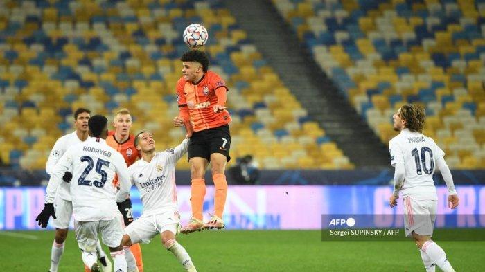 HASIL Shaktar Donetsk vs Real Madrid: Los Blancos Kalah Memalukan, Terancam Tak Lolos 16 Besar