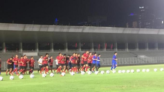 Empat Pemain Tak Terlihat di Latihan Perdana TC Timnas Indonesia di Bawah Shin Tae-yong