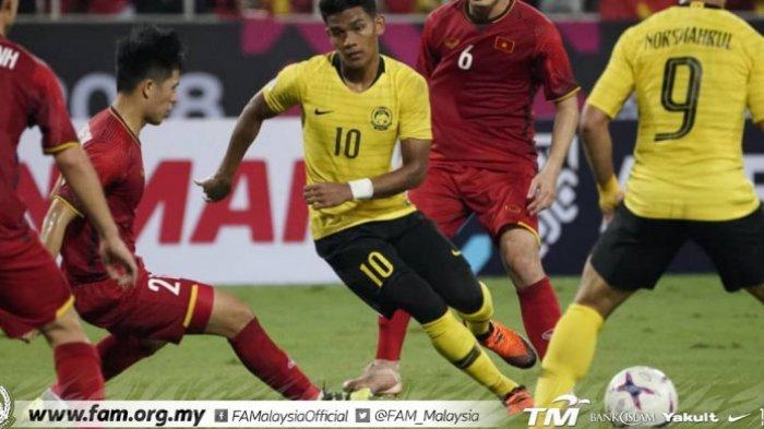 Pemain Naturalisasi Timnas Malaysia Dihukum AFF Karena Insiden Final Piala AFF 2018