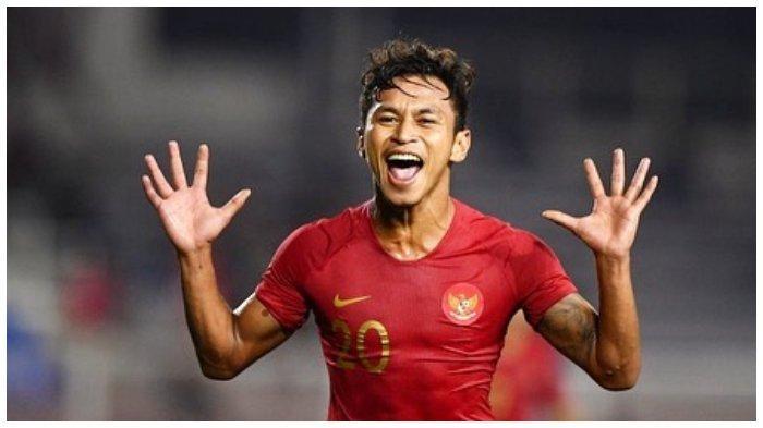 Pemain Timnas U-23 Indonesia, Osvaldo Haay memiliki ambisi yang kuat untuk membobol gawang Vietnam saat laga Final SEA Games 2019.