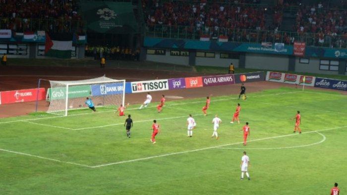 Media Asing Ini Tulis Laga Timnas Indonesia Vs Palestina Jadi Momen Paling Berkesan di Asian Games