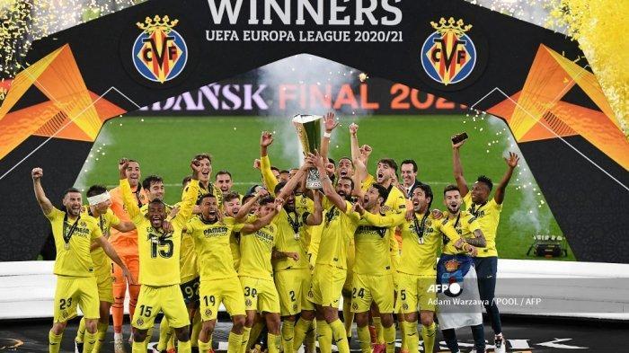 Pesta Villarreal, Ribuan Pendukung bersorak di Jalanan Sambut Kedatangan Juara Liga Eropa