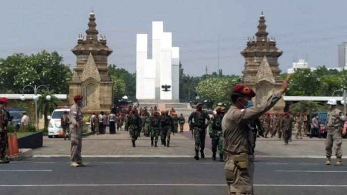 Kabinda Papua Dimakamkan Secara Militer di TMP Kalibata