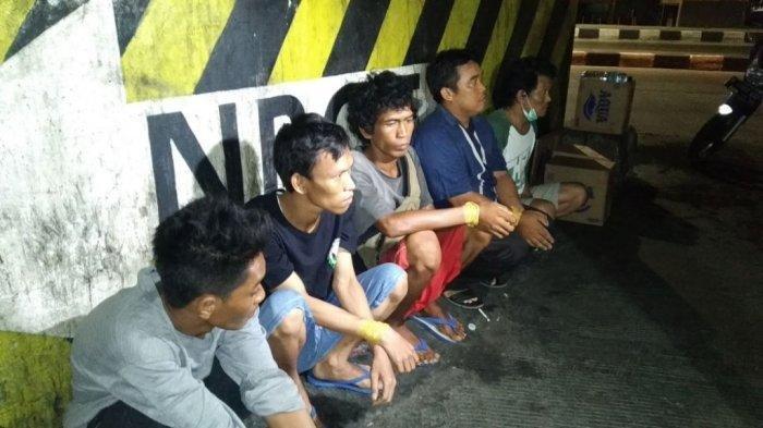 Polisi Ringkus Komplotan Pemalak Sopir Truk di Tanjung Priok