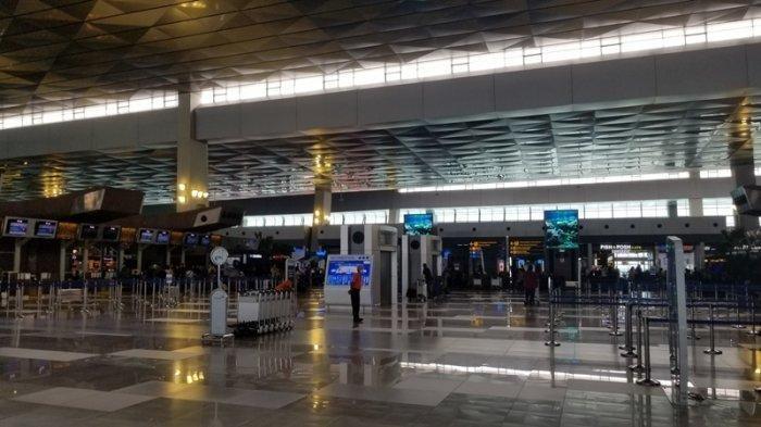 Bandara Soekarno-Hatta Sediakan Bilik Disinfektan untuk Penumpang dan Petugas