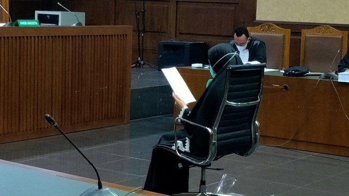 Tangis Jaksa Pinangki Saat Bacakan Pledoi, Ungkap Maaf dan Penyesalan Terlibat Kasus Djoko Tjandra
