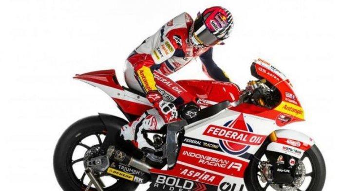 Pembalap Federal Oil Gresini Moto2 musim 2021