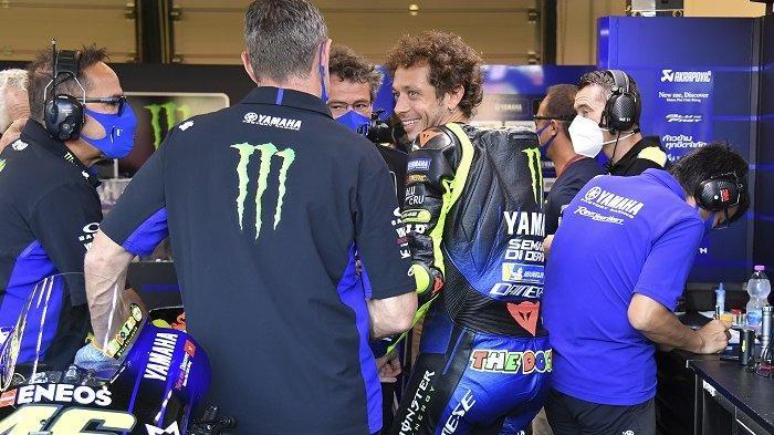 Hasil MotoGP Portugal 2020, Yamaha Ingin Akhiri Kisah Bersama Valentino Rossi dengan Manis