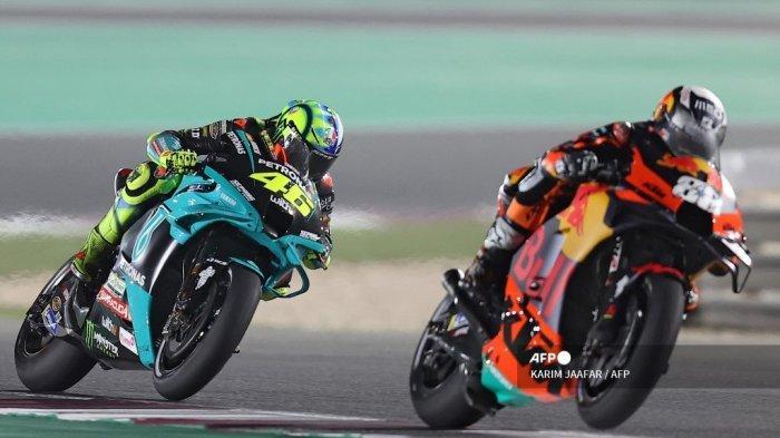 JADWAL MotoGP Doha 2021 di Trans7 - Sindiran Tersirat Rossi soal Degradasi Attitude Pembalap