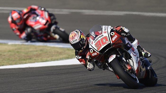 Hasil FP3 MotoGP Spanyol 2021 Marquez Terjatuh, Rossi Naik 5 Posisi, Nakagami Tercepat