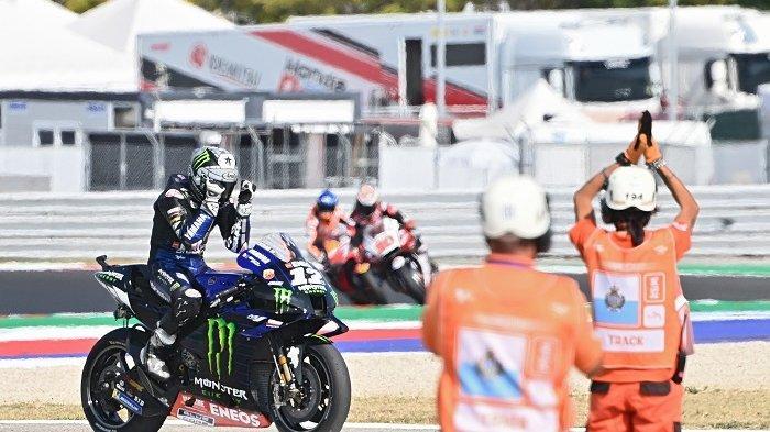 Hasil Test Pramusim MotoGp 2021, Para Rider Yamaha Jadi yang Terdepan, Kecuali Valentino Rossi