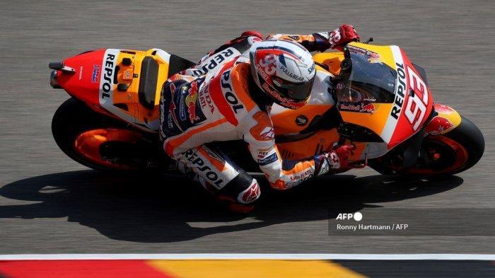 Hasil MotoGP Jerman 2021, <a href='https://manado.tribunnews.com/tag/marc-marquez' title='MarcMarquez'>MarcMarquez</a> Pertahankan Gelar Raja Sachsenring, Kejutan <a href='https://manado.tribunnews.com/tag/miguel-oliviera' title='MiguelOliviera'>MiguelOliviera</a>
