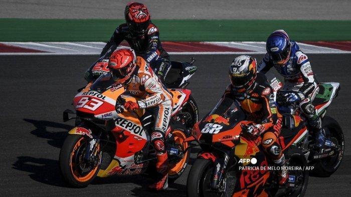 SEDANG BERLANGSUNG Live Streaming TRANS7 MotoGP Portugal 2021, Menanti Poin Perdana Marquez