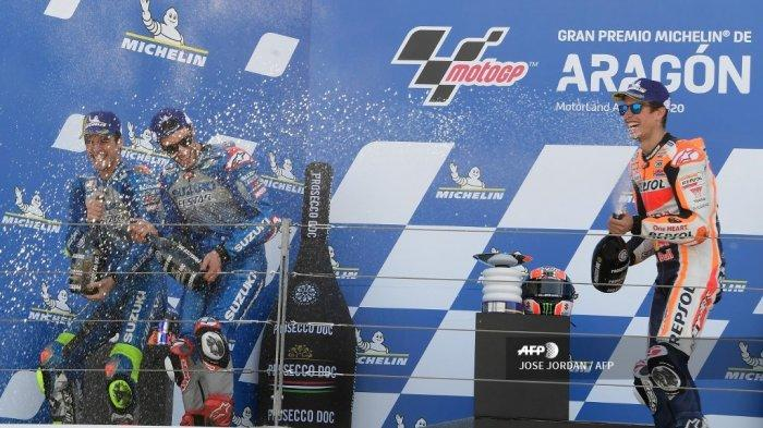 Komentari Soal Cedera Marc Marquez, Alex Rins: Dia Terlalu Banyak Menyembunyikan Kenyataan