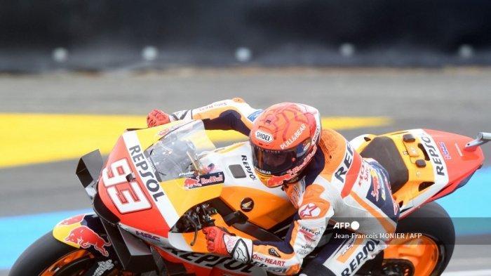 Hasil MotoGP Prancis 2021: Kata Marquez Setelah Terjatuh 2 Kali hingga Surutnya Ambisi Raih Gelar