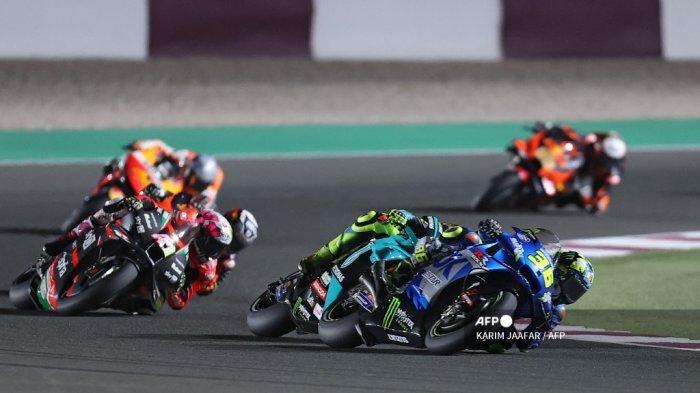 Diasapi Dua Ducati di Depan Garis Finis di Qatar, Joan Mir Siap Tebus Podium di MotoGP Doha 2021