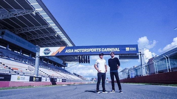 Mobil Alami Kendala Teknis, Rio dan David Tjipto Batal Latihan di Korea International Circuit