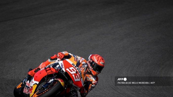 NONTON Live Streaming MotoGP Portugal 2021 di Trans7: Belum 100 Persen Fit, Marquez Siap Menderita