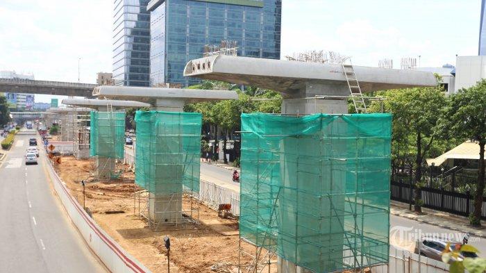 Ini Identitas Lima Korban Jatuhnya Konstruksi Proyek LRT di Jakarta Timur