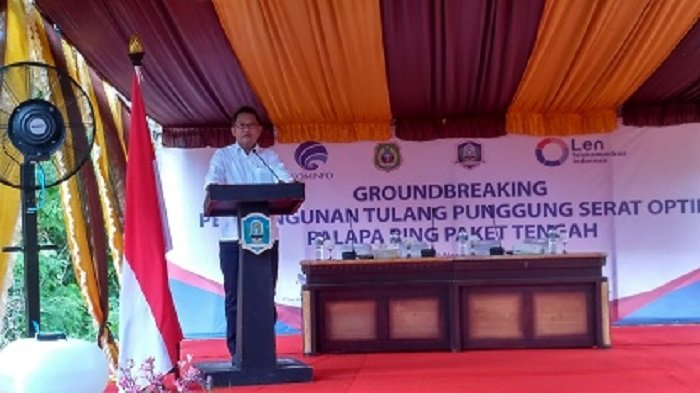 Kominfo Fokus Melanjutkan Pembangunan Palapa Ring di Kabupaten Morotai