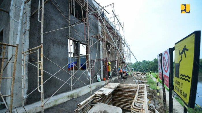 Pembangunan Pintu Air Demangan Baru Ditargetkan Rampung Akhir 2021