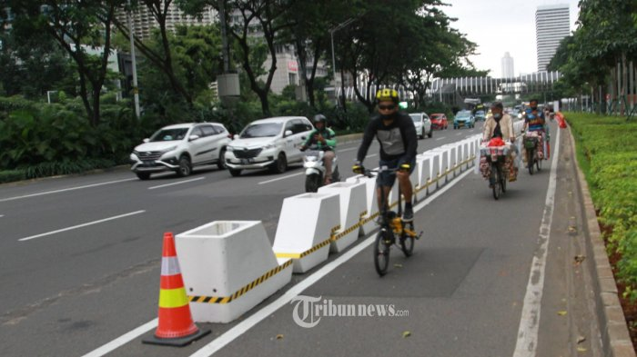 Kadishub DKI Sebut 2030 Jalur Sepeda Permanen di Jakarta Capai 500 Kilometer