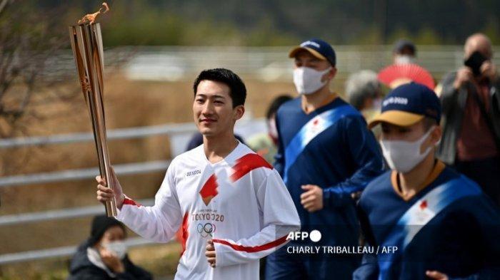 Estafet Obor Olimpiade Tokyo Dimulai di Tengah Pembatasan Covid-19 Jepang