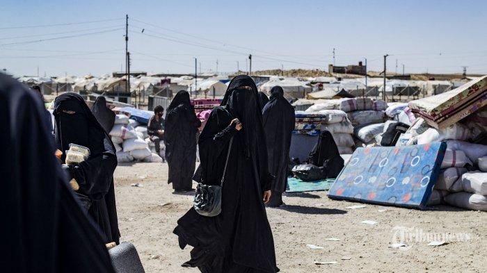 Berita Foto : Pembebasan Keluarga ISIS Dari Kamp al-Hol