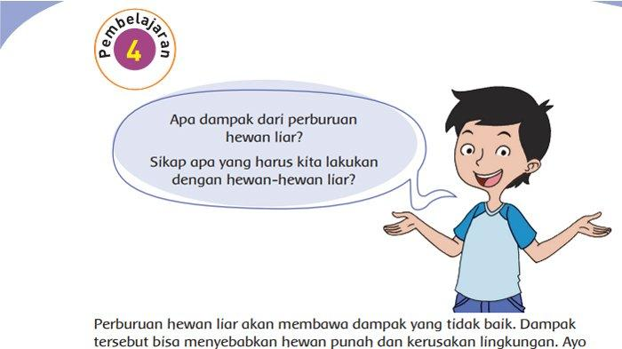 Kunci Jawaban Tema 3 Kelas 4 Halaman 70 71 72 73 74 Subtema 2 Pembelajaran 4