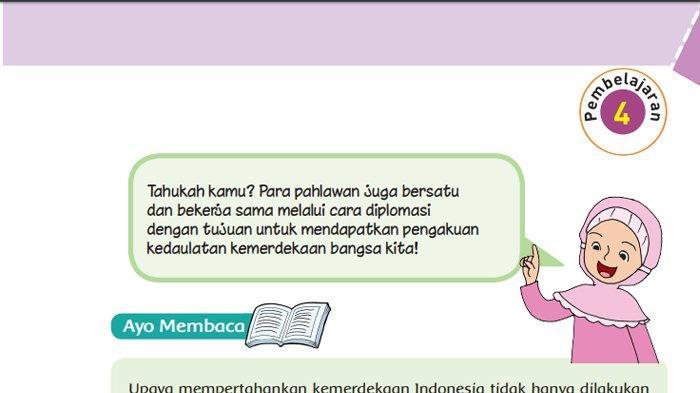 Kunci Jawaban Tema 2 Kelas 6 Sd Halaman 78 79 80 82 83 Buku Tematik Subtema 2 Pembelajaran 4 Tribunnews Com Mobile