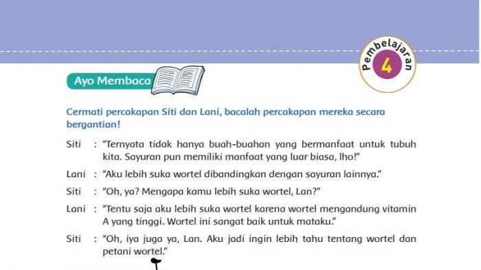 Kunci Jawaban Tema 3 Kelas 5 Sd Halaman 27 33 Buku Tematik Subtema 1 Pembelajaran 4 Tribunnews Com Mobile