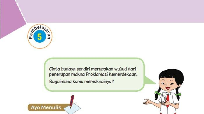 Kunci Jawaban Tema 2 Kelas 6 Sd Halaman 32 33 34 35 36 Buku Tematik Subtema 1 Pembelajaran 5 Tribunnews Com Mobile