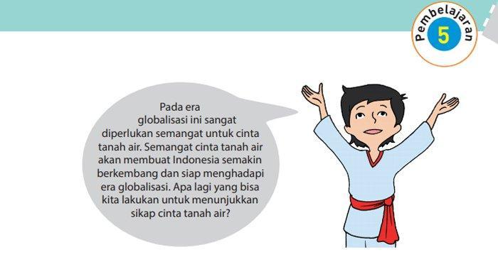 Kunci Jawaban Buku Tematik Tema 4 Kelas 6 Halaman 126 127 128 Pembelajaran 5 Subtema 3
