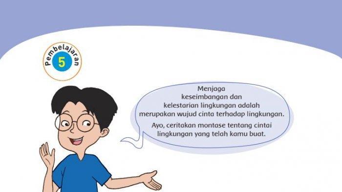 Kunci Jawaban Tema 3 Kelas 4 Sd Halaman 122 123 124 125 Buku Tematik Subtema 3 Pembelajaran 5 Halaman All Tribunnews Com Mobile